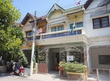Townhouse for sale in ChaAm front view