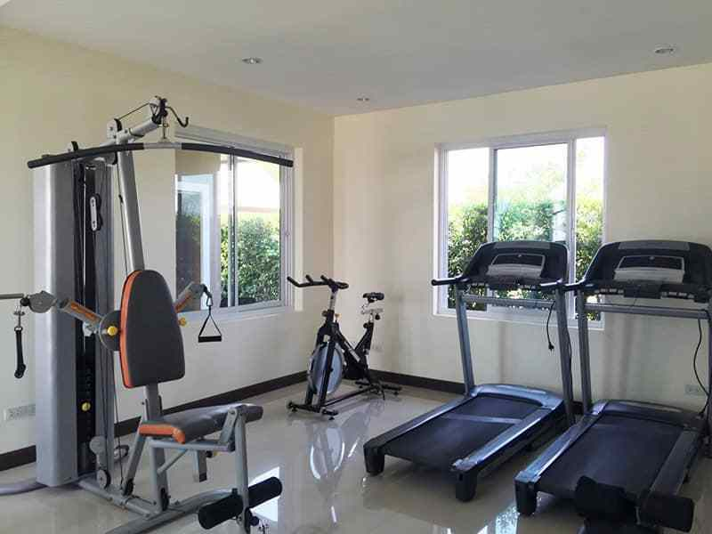Newly built and upgraded house for sale in Hua Hin gym