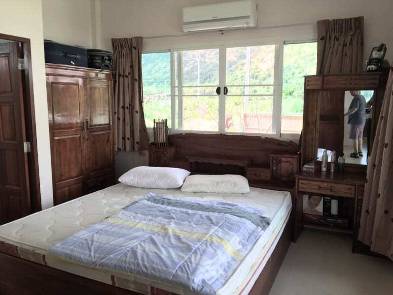 Villa with pool for sale in Thailand guest room