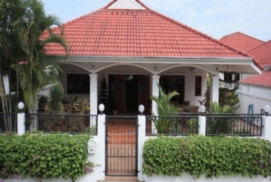 Hua Hin basic house for sale front view