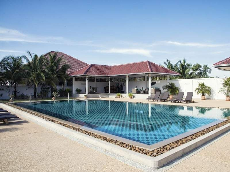 Sunset Village Hua Hin stunning house for sale large pool area