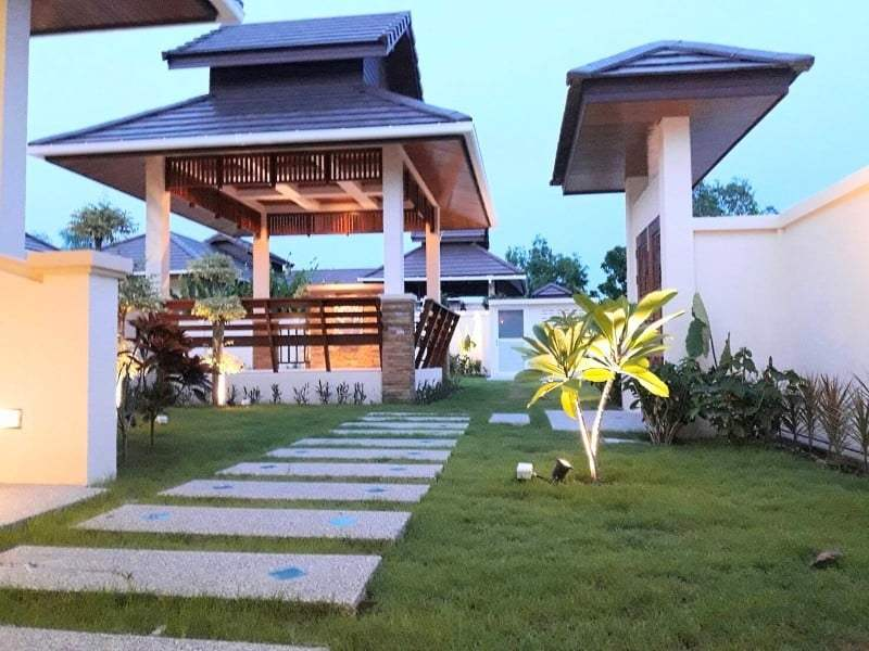 Hua Hin Hillside Hamlet villa for sale garden