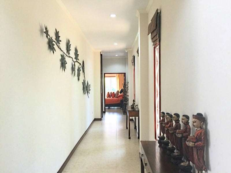 Upgraded swimming pool home in Hua Hin for sale hallway