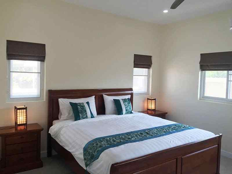 Newly built and upgraded house for sale in Hua Hin master bedroom