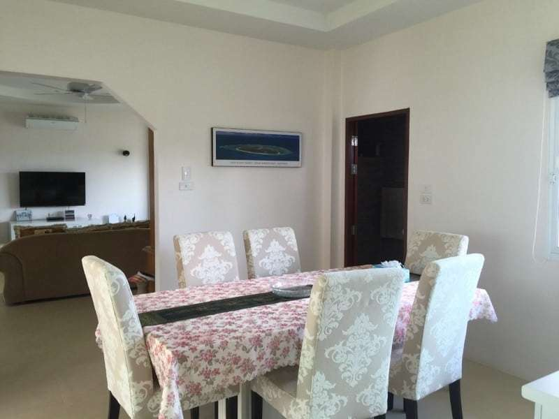 Villa with pool for sale in Thailand dining room