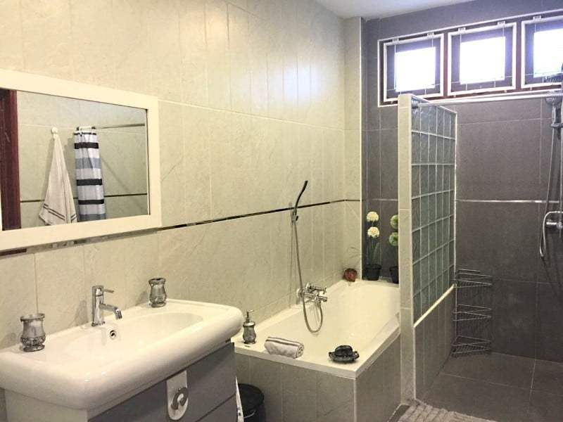 Upgraded swimming pool home in Hua Hin for sale shower