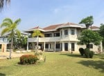 Lake view house for sale in Hua Hin front garden
