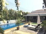 Upgraded swimming pool home in Hua Hin for sale covered terrace