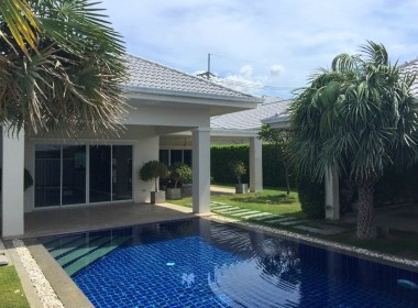 House for sale with pool Hua Hin West pool
