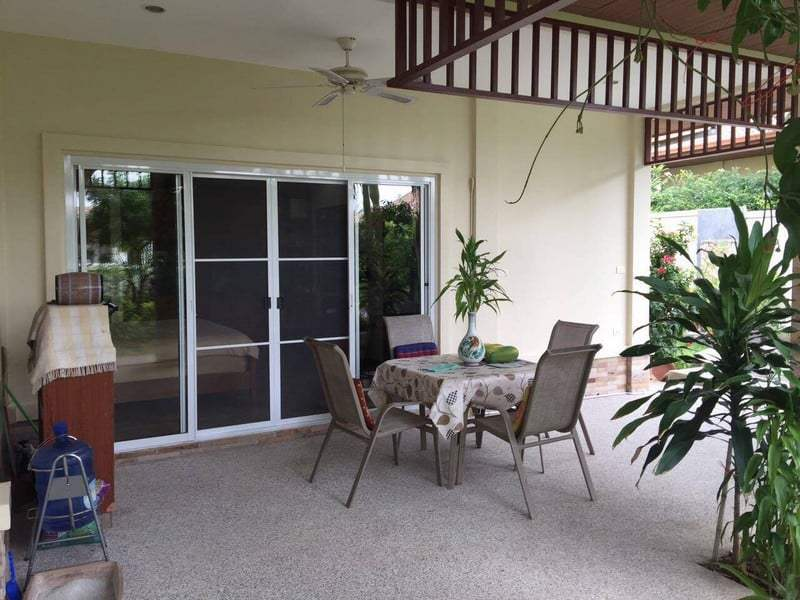 Private pool home for sale Hua Hin outdoor
