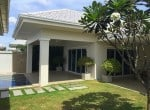 House for sale with pool Hua Hin West garden