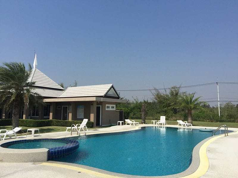Newly built and upgraded house for sale in Hua Hin comunal pool