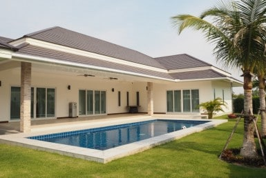 Large holiday villa for rent in Hua Hin