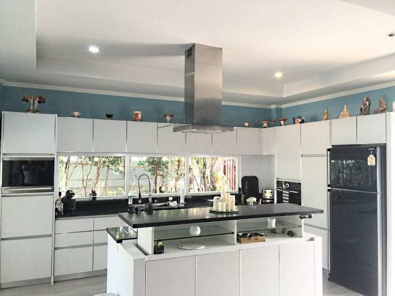 Upgraded swimming pool home in Hua Hin for sale kitchen
