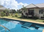 Villa with pool for sale in Thailand pool view