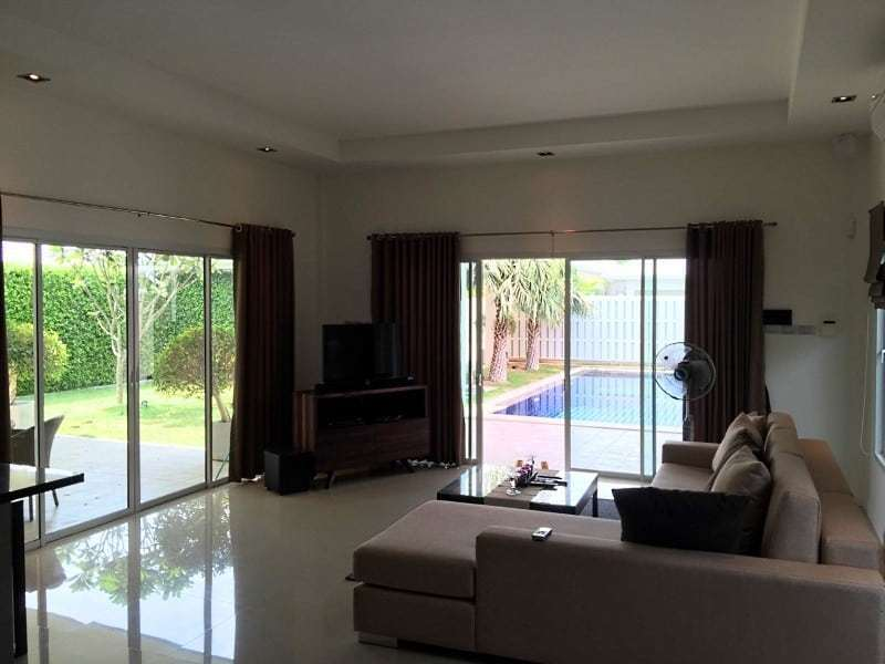 House for sale with pool Hua Hin West lounge 2