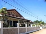 Beachfront house for sale in Hua Hin street view