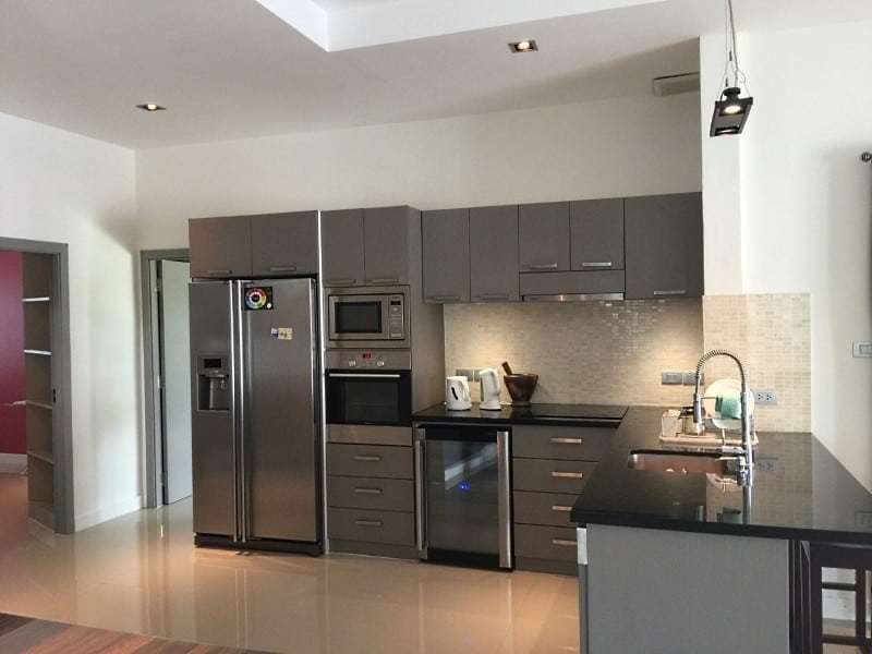 House for sale with pool Hua Hin West kitchen