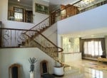 Lake view house for sale in Hua Hin stairway