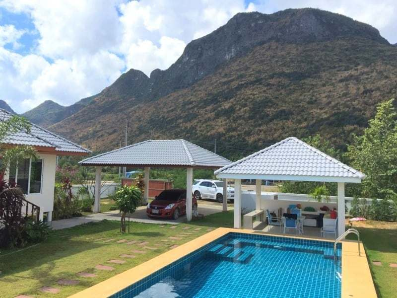 Villa with pool for sale in Thailand mountain views