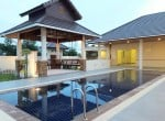 Hua Hin Hillside Hamlet villa for sale Rear View
