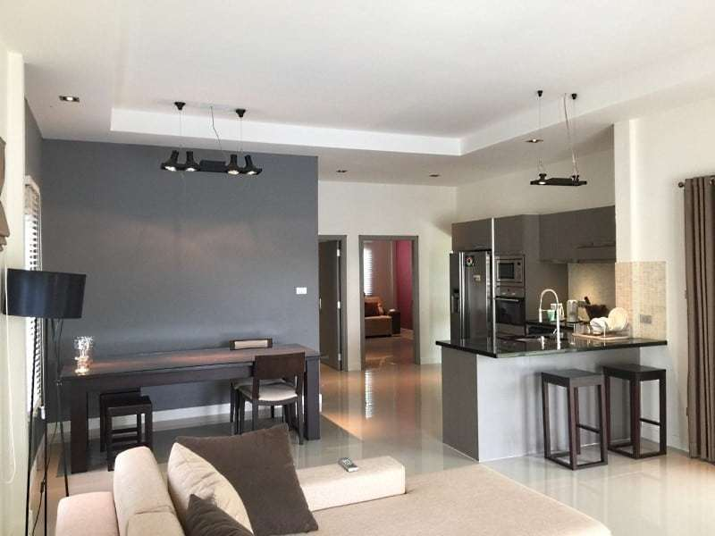 House for sale with pool Hua Hin West living