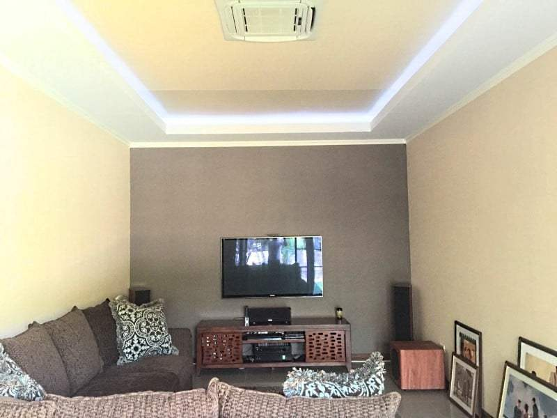 Upgraded swimming pool home in Hua Hin for sale tv room