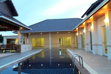 Hua Hin Hillside Hamlet villa for sale pool view