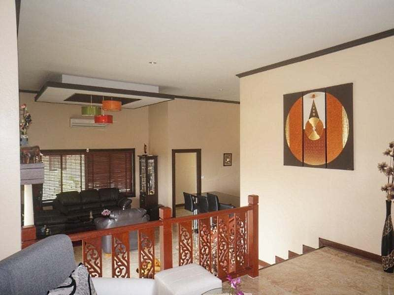 4 bedroom house for sale in Hua Hin elavated view