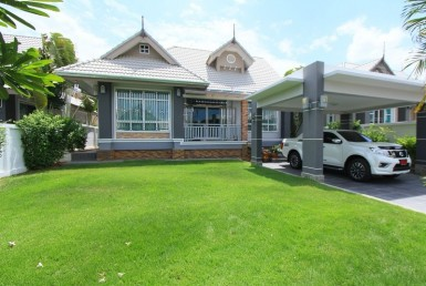 House in Hua Hin for sale Garden