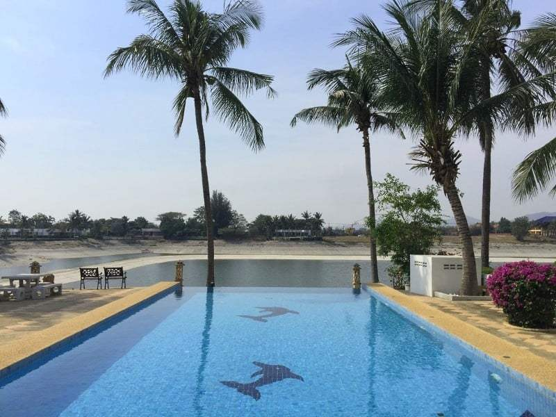Lake view house for sale in Hua Hin lake