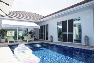 Pool villa for sale Hua Hin with Sala View