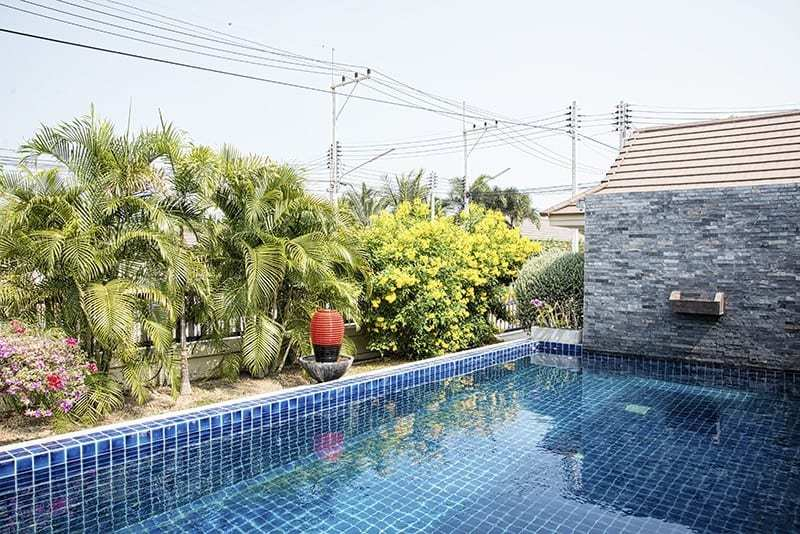 House for sale with pool in Hua Hin Garden