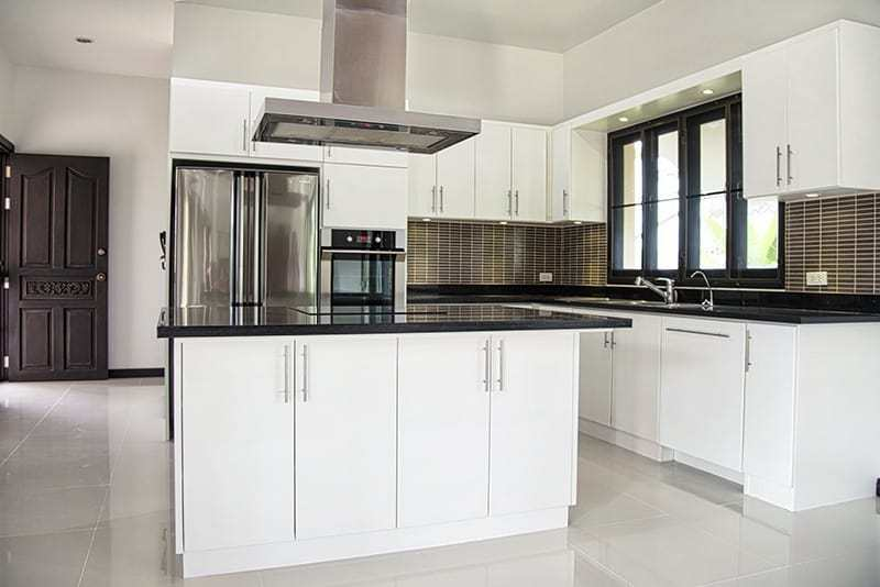 Spacious villa for sale Hua Hin kitchen