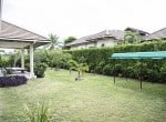 Spacious villa for sale Hua Hin garden view