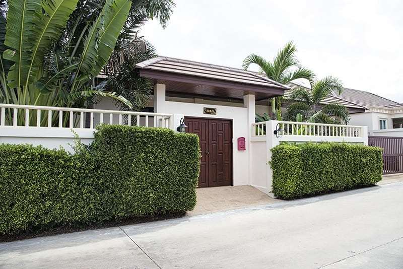 Spacious villa for sale Hua Hin front view
