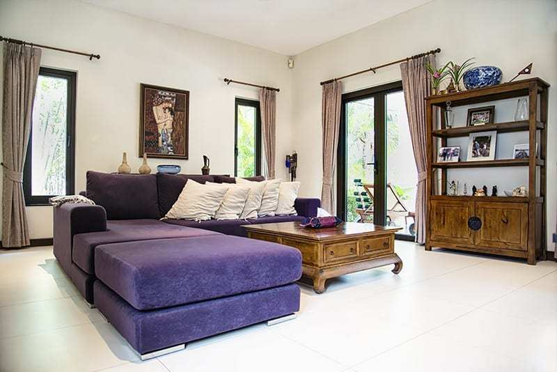 Banyan villa for sale in Hua Hin Living Room