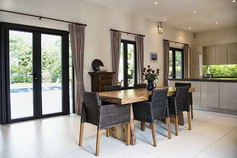 Banyan villa for sale in Hua Hin Dining Area