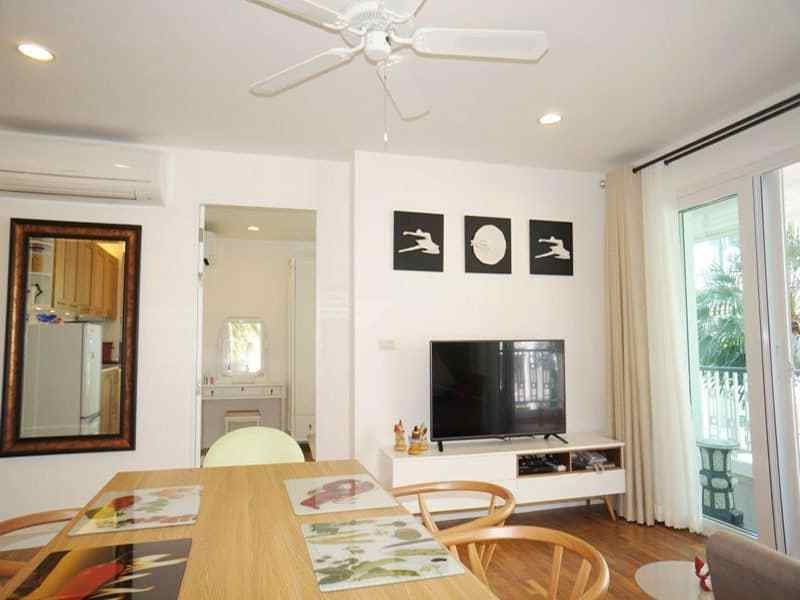 Condo for sale in Hua Hin Khao Takiab at the beach lounge