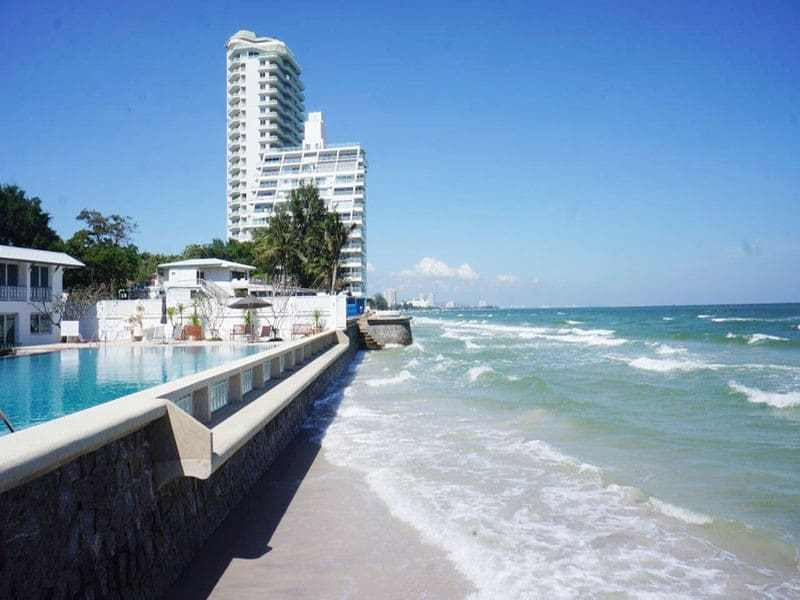 Condo for sale in Hua Hin Khao Takiab at the beach view