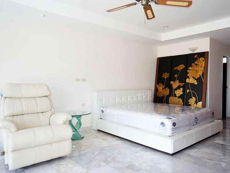 Condo for sale in Hua Hin with panoramic sea view master bedroom