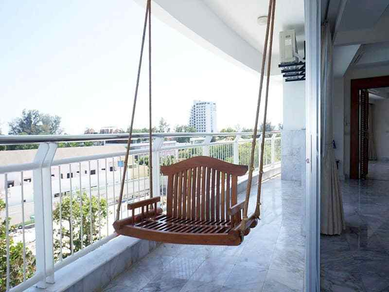 Condo for sale in Hua Hin with panoramic sea view balcony