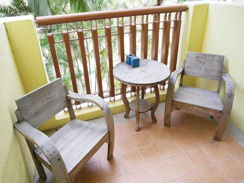 Condo for sale in premium location in Hua Hin balcony