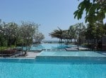 Seaview condo in Hua Hin for sale pool view