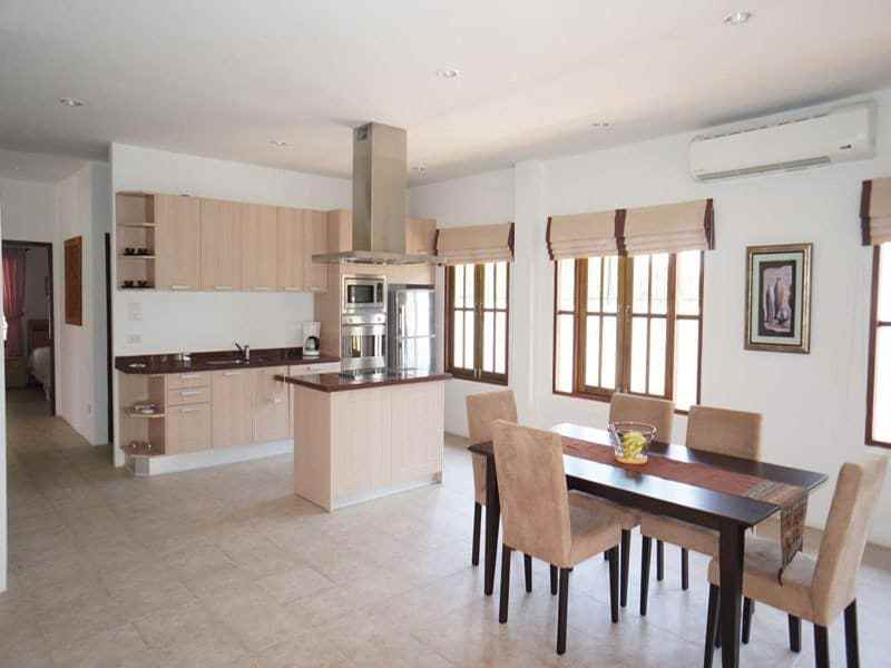 Modern home in good condition for sale in Hua Hin kitchen