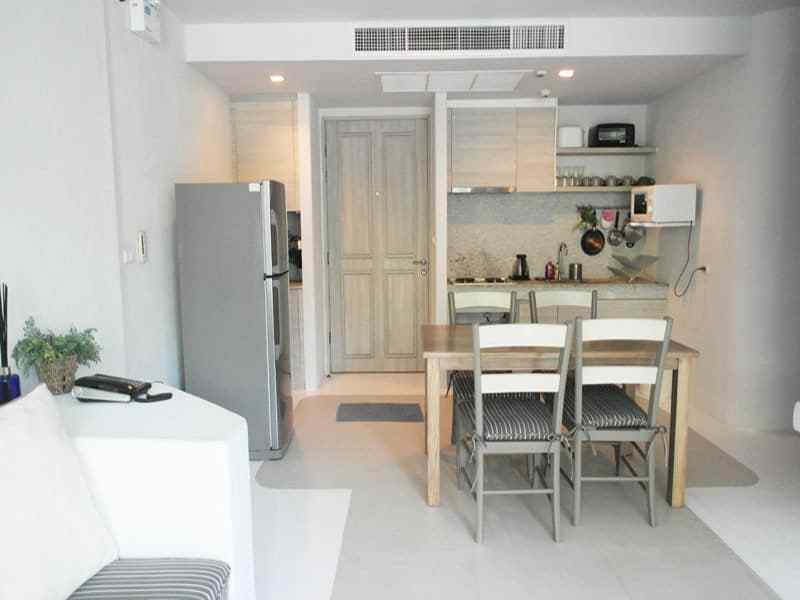 Beautiful condominium for sale in Thailand Hua Hin kitchen