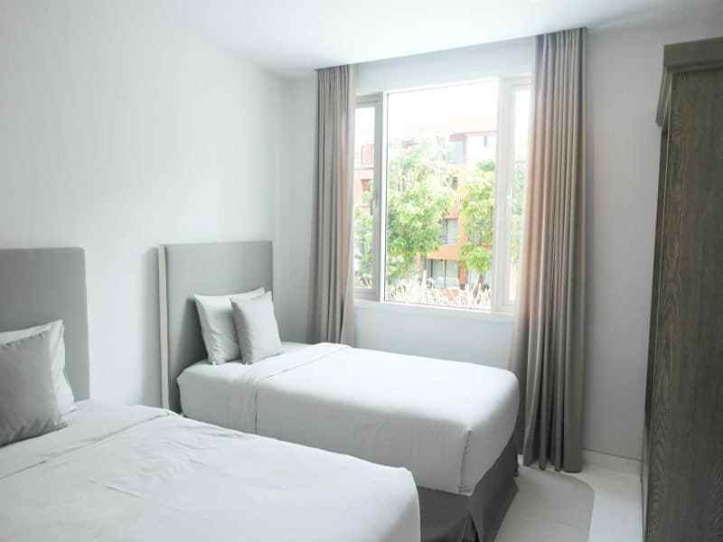 Beautiful condominium for sale in Thailand Hua Hin guest room