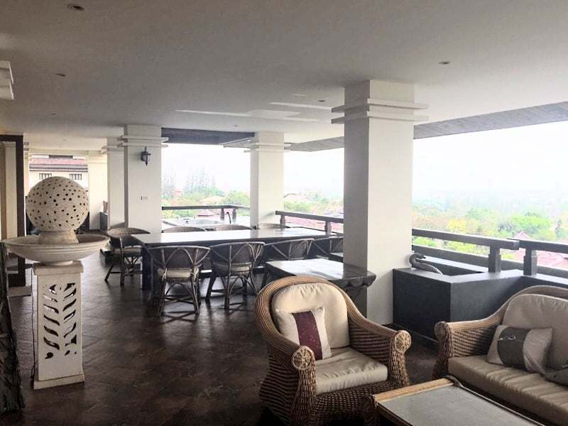 Massive condo for sale in Hua Hin balcony