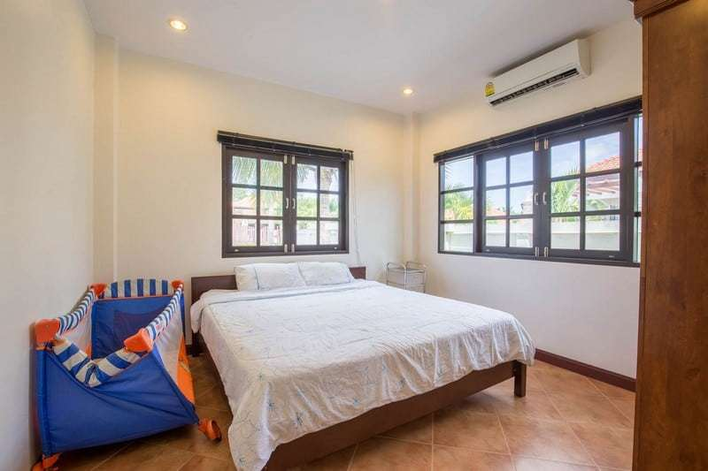 Hua Hin Orchid Paradise Homes for sale master bedoom