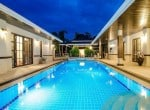 Palm Hills Hua Hin villa for sale Pool 2